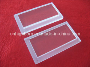 Customized Transparent Quartz Plate with Steps pictures & photos
