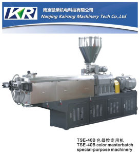 High Capacity PP/PE + CaCO3 Plastic Filler Masterbatch Granule Making Machine pictures & photos