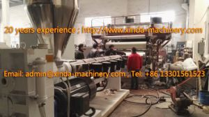 PVC Gilding Tablecloth Production Line Machinery pictures & photos