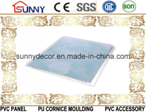Decorative Plastic Sheets Marble Design PVC Ceiling Wall Panel pictures & photos
