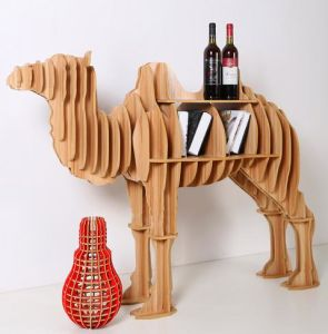 Wooden Bookshelf for Camel Model pictures & photos