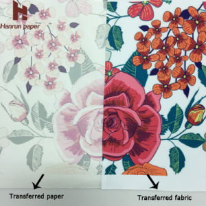Low Weight 55GSM Sublimation Heat Transfer Paper for Sublimation Printing pictures & photos