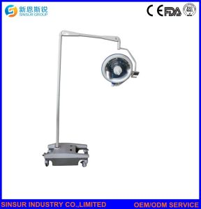 Medical Ceiling Double Head Halogen Shadowless Surgical Operating Lamp pictures & photos