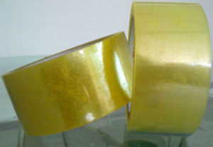 Clear Sticky Yellowish Packing Tapes pictures & photos