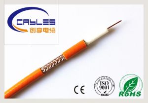 Super Flexible RF Coaxial Cable/Coaxial Cable Rg59 pictures & photos