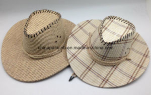 Double Layer Paper Straw Cowboy Hats (CPA_60020) pictures & photos