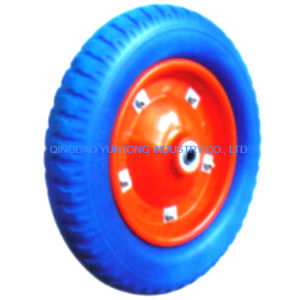 Solid Rubber PU Foam Wheel