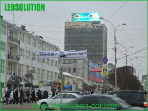 Waterproof High Brightness Outdoor LED Billboard Media Facade pictures & photos