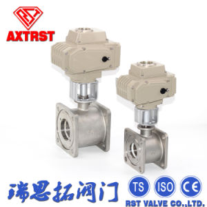 Stainless Steel Floating Flange Ball Valve with Electric Actuator pictures & photos