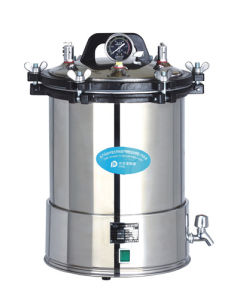 Portable Autoclave Deepened Yx-280d 24L pictures & photos