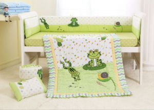 New Design Baby Crib Bedding Set for 4PCS Wholesale in China pictures & photos