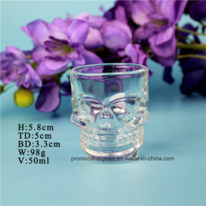 Special Shaped Skull Shot Glass, 50ml Skull Shot Glass Cup, Fancy Glass