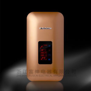 Digital Instant Electric Water Heater with CE Approval (Jrh-010) Golden