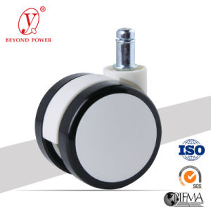 60mm PVC Swivel Twin Wheel Casters pictures & photos