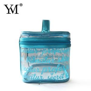 Hot Sale Wholesale Promotional Travel Clear Transparent Cosmetic Toiletry Makeup Bag pictures & photos