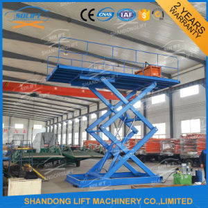 Scissor Design and Two Cylinder Hydraulic Lift Type Scissor Car Lift pictures & photos
