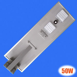 Outdoor 50W Cheap Intergrate Solar Light, All in One Design Solar LED Garden Light Solar Street Light pictures & photos