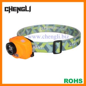 CREE LED Sensor Head Lamp with 3AAA Battery (LA1229)