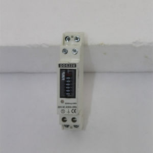 Single Phase DIN Rail Panel Mounted Watt- Hour Meter pictures & photos
