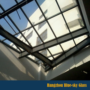 china grey color laminated glass for roof curtain wall skylight