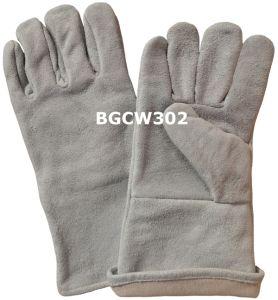 Cow Split Leather Welder Work Gloves
