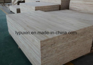 AAA Grade 100% Monterey Pine Finger-Joint Lumber (Glued Laminated Timber) pictures & photos