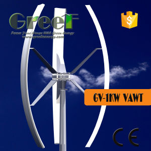 1kw Vertical Wind Turbine with off Grid Controller Inverter pictures & photos