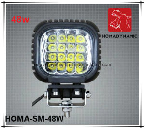 48W LED Driving Light LED Offroad Light LED Headlight LED Work Light 5inch pictures & photos