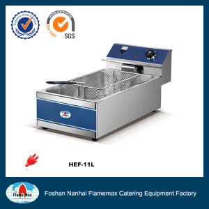 1-Tank 1-Basket Electric Fryer (HEF-11L) pictures & photos