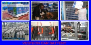 Mf DIN Car Battery 55ah 238X175X175 pictures & photos