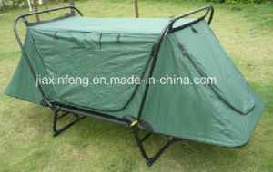 Double Layer Outdoor Camping Bed Tent
