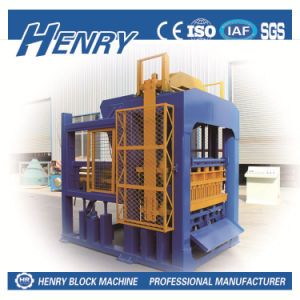 High Performance Qt10-15 Concrete Block Machine Automatic Brick Making Machinery pictures & photos