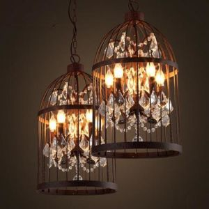 Traditional Lanterms Chandelier Lamp with Crystals (WHG-330) pictures & photos
