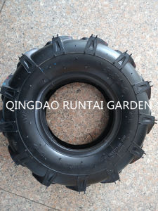 Qingdao Made High Quality Durable Agr Pattern Cheap Tire and Tube (3.50-6) pictures & photos