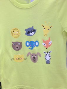 Custom Printed Iron on Stickers for Children′s T-Shirts pictures & photos