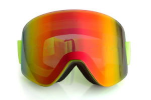 Cheap Polarized Sports Eyewear Safety Goggles for Snowboarding pictures & photos