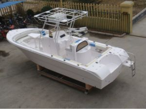 24FT 7.2m Fiberglass Center Console Fishing Boat pictures & photos