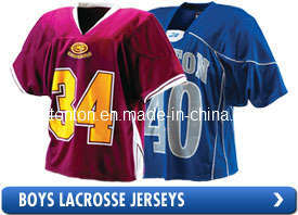 Promotional Custom Sublimated Lacrosse Jersey pictures & photos