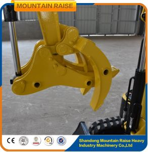 Hydraulic 800kg Mini Digger Backhoe Excavator for Garden pictures & photos