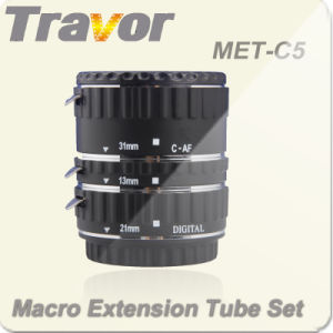 Travor New Professional Metal Macro Extension Tube Set for Canon (MET-C5)