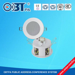Waterproof Mini Ceiling Speaker, 3W 2.5 Inch Ceiling Speaker for Bathroom