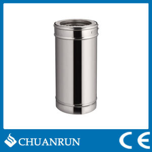 50cm Stainless Steel Double Wall Straight Pipe for Pellet Stoves pictures & photos