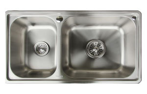 Cacar Easy Cleaning Stainless Steel Kitchen Sink (SC8245A) pictures & photos