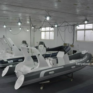 Liya 5.2-6.2m Fiberglass Inflatable Boat Rib Boat with CE pictures & photos