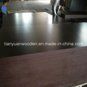 Construction Timber Wooden Black Board Laminate Plywood pictures & photos