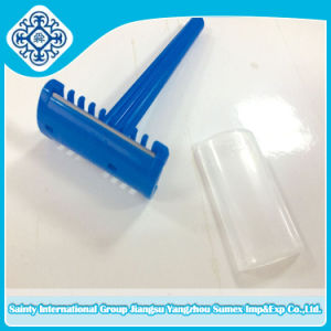 Hot Sale Razor Blade with Plastic Handle with Ce and ISO pictures & photos