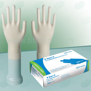 Polyethylene/Poly/Vinyl Disposable Gloves, Disposable PVC Gloves, Medical Gloves pictures & photos