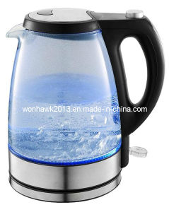 GS/CE/CB/SAA/LFGB/RoHS/ERP Certificate 1.7L Electric Glass Kettle pictures & photos