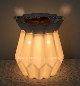 Electric Translucent Fragrance Lamp Warmer with Temperature Adjustment pictures & photos