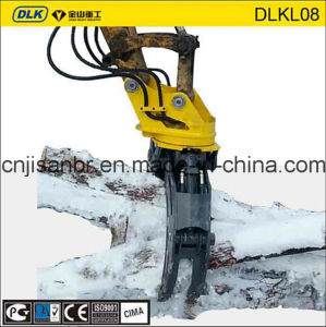360 Degree Hydraulic Grapple Suits for 18 Ton Excavator pictures & photos